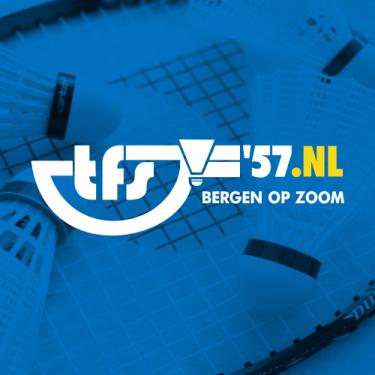 Logo Badmintonclub The Flying Shuttle '57