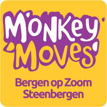 Logo Monkey Moves Steenbergen en Bergen op Zoom